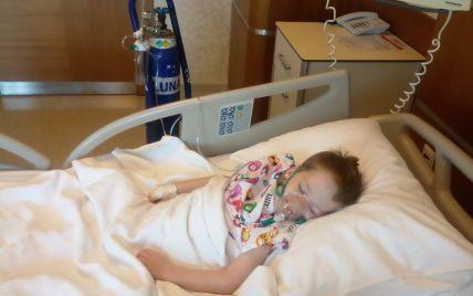 Закордонні лікарі виявили у Матвійка пухлину, яку довелося негайно видаляти