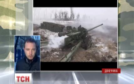 """Бойовики обстрілювали сили АТО """"Градами"""" та намагалися атакувати танками"""