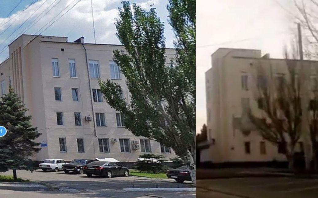 """Доказательства того, что """"Панцирь"""" колесил по Луганску / © bellingcat.com"""