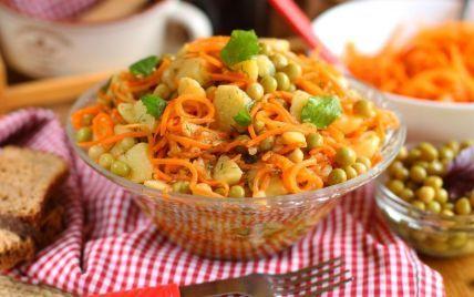 Вибух смаку: як приготувати салат з картоплі та моркви по-корейськи