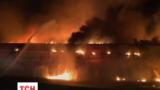 Трое спасателей пострадали во время пожара в эстонском городе Силламяэ