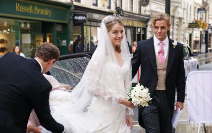 Королівське весілля: онука принцеси Олександри вийшла заміж за шведського фінансиста