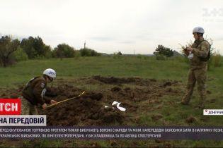 Новости с фронта: вражеские снаряды и мины десятками взрываются перед оккупированной Горловкой
