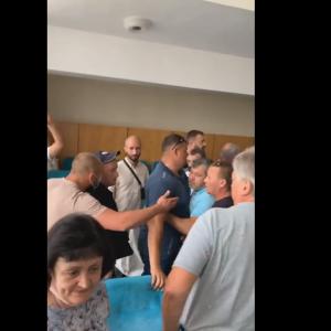 На засіданні сесії Бориспільської міської ради сталася бійка: відео