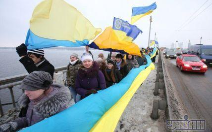 У Києві два береги Дніпра з'єднають живим ланцюгом