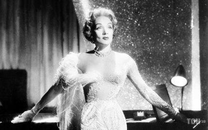 """Любила сукні з """"голим"""" ефектом: згадуємо один з найрозкішніших образів Марлен Дітріх"""