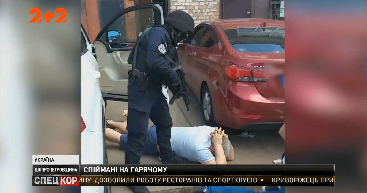 В Днепропетровской области задержали рэкетиров, которые выбивали несуществующий долг