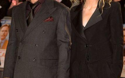 """Эмбер Херд пришла с Джонни Деппом на премьеру его нового фильма """"Мордекай"""""""