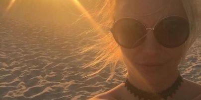 Уикенд в Калифорнии: Бритни Спирс поделилась пляжными снимками
