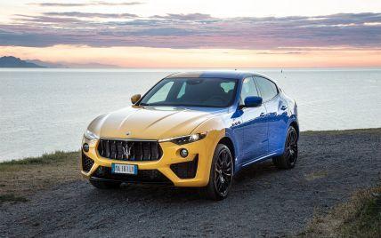 В желто-голубом цвете и с трезубцем на крыше: Maserati показала уникальный автомобиль, который должен понравиться украинцам