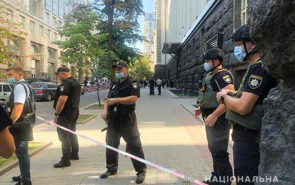 Захват здания Кабмина: патрульные перекрыли движение по центральным улицам