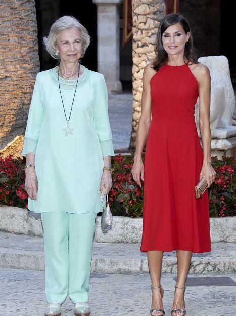 Королева Летиція і королева Софія / © Getty Images
