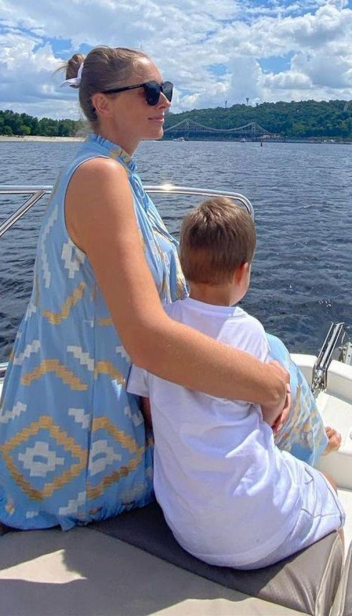 Катя Осадчая с сыном Иваном / © Instagram Каті Осадчої