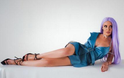 Слава Каминская впервые выпустила песню на украинском языке