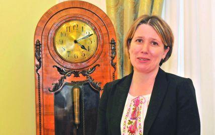 Пані посол Великої Британії Джудіт Гоф закінчила місію в Україні, але пообіцяла повернутись