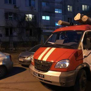 В Киеве вспыхнул пожар в многоэтажке: подробности