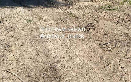 Части тел выглядывают из земли: в Днепре неизвестные разрушили кладбище для домашних животных (фото)