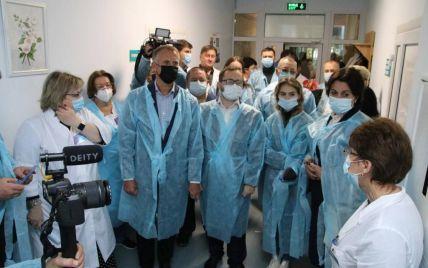 В Киевском областном онкодиспансере открыли обновленное отделение химиотерапии