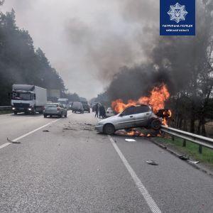 Взрыв был такой силы, что газовый баллон улетел на противоположную сторону дороги: обнародована предварительная причина смертельного ДТП под Киевом