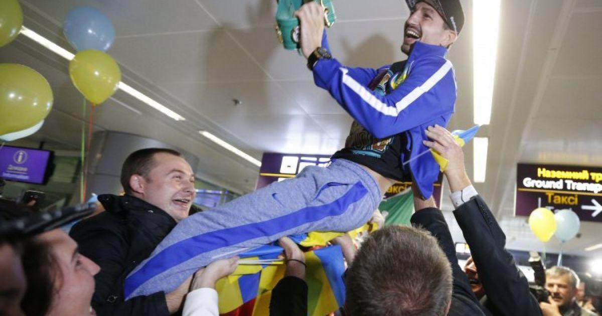 Постол став третім чинним володарем найпрестижнішого титулу серед українців. / © УНІАН