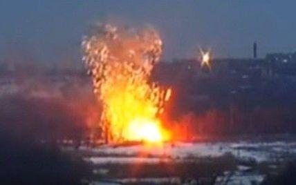 В Сети появилось видео, как украинский офицер одним выстрелом из ПТРК уничтожил БМП боевиков