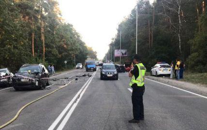 Столкновение 8 автомобилей в Киеве: виновника ДТП арестовали