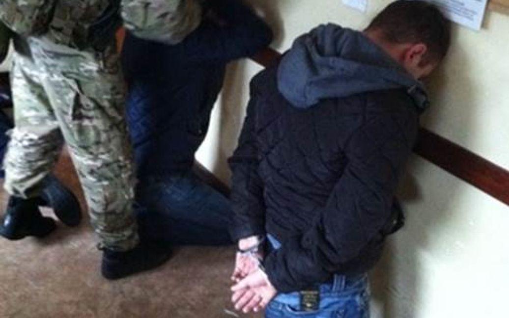 На Одесчине СБУ задержала банду, грабившую инкассаторов / © Пресс-служба СБУ