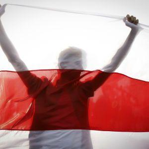 За санкции против Лукашенко: белорусские активисты в Польше перекрыли дорогу возле пункта Берестовица-Бобровники