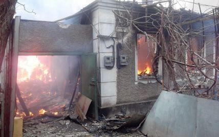 Под обстрел боевиков в Мариуполе попали 4 школы и 3 детсада