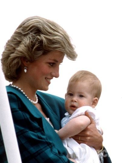 Принцесса Диана и принц Гарри / © Getty Images