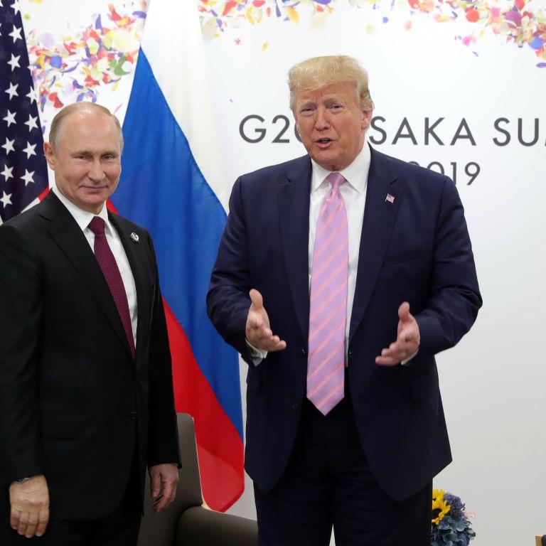 """""""Самые теплые пожелания"""": Трамп попросил Байдена передать привет Путину"""