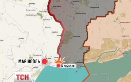 """Боевики полностью разрушили опорный пункт и ранили четырех """"азовцев"""" в Широкино"""