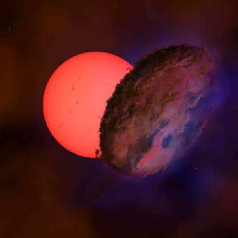 Науковці виявили в центрі Чумацького Шляху зірку, яка в сто разів більша за Сонце