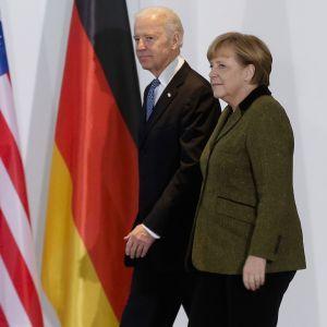 Байден перед разговором с Путиным встретится с Меркель: когда и о чем будут говорить