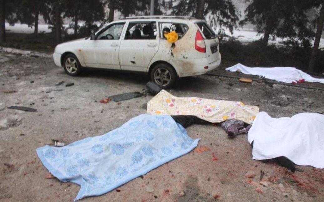 Жертвами обстрілів стали щонайменше п'ятеро людей / © www.president.am