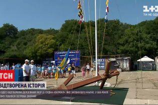 Новости Украины: в Одессе воссоздали якорь корабля, затонувшего 2500 лет назад