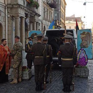 У Львові попрощались із загиблим в зоні ООС 23-річним військовим