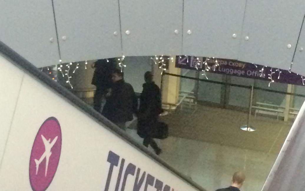 Євгенія Тимошенко та Чечоткін спізнювалися на літак / © ТСН.ua