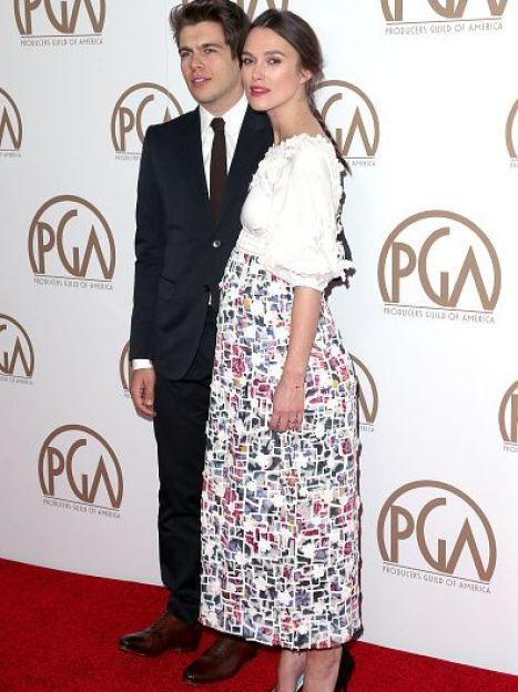 Кира Найтли и Джеймс Райтон на церемонии Producers Guild Of America Awards, январь 2015 / © Getty Images/Fotobank