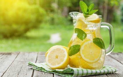 Як приготувати домашній лимонад