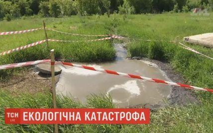 У Миколаєві цілу вулицю затопило фекаліями