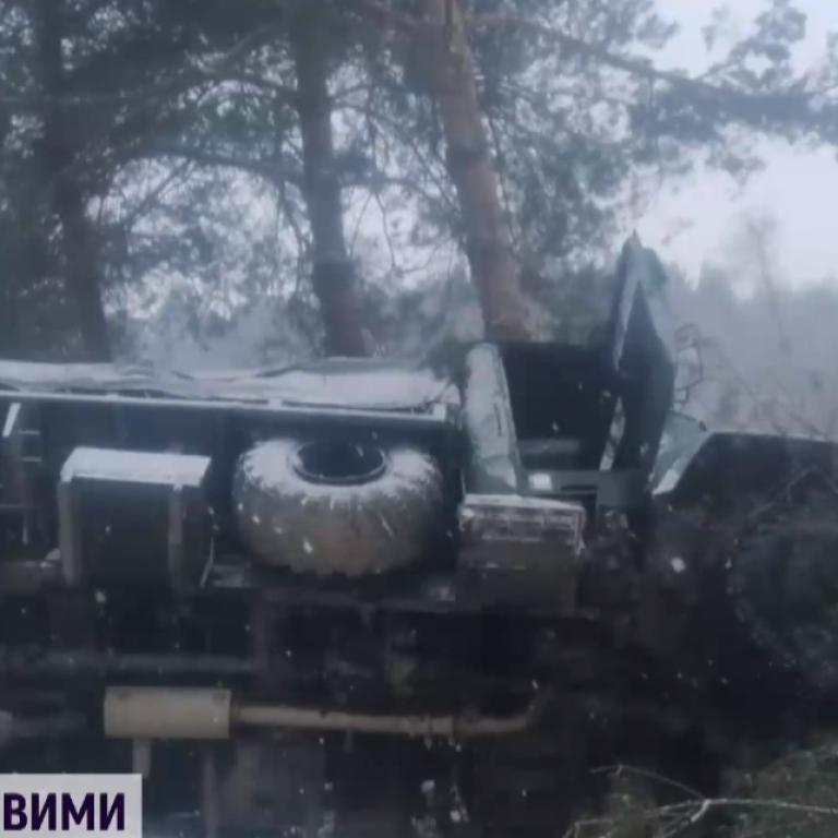 На Яворівському полігоні перекинулося авто з військовими, п'ятьох бійців госпіталізували
