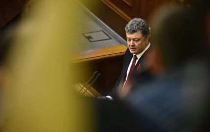 Порошенко озвучил количество бойцов АТО на Донбассе