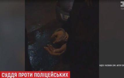 Судді та поліцейські оприлюднили свої відео конфлікту в Києві