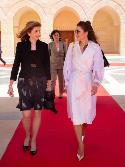 Королева Ранія і Лаура Маттарелла / © Instagram королевы Рании