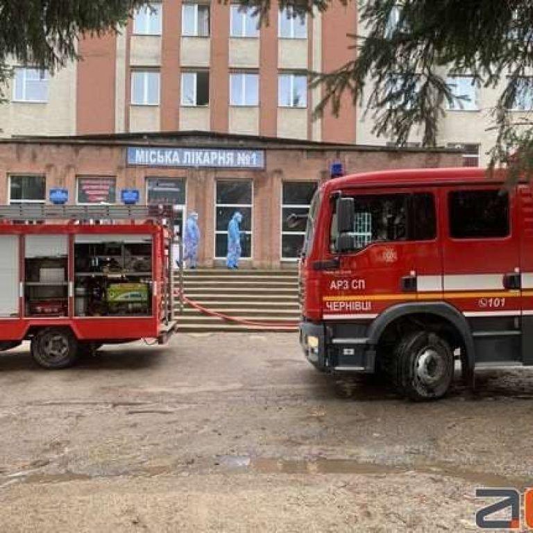 В Черновцах в больнице, где лечат больных коронавирусом пациентов, произошел взрыв: есть погибший