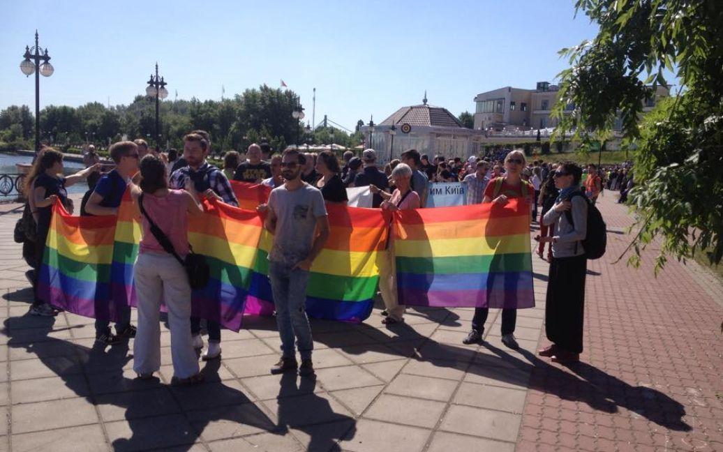 """В Киеве проходит """"Марш равенства"""" / © Виталий Селык / Facebook"""