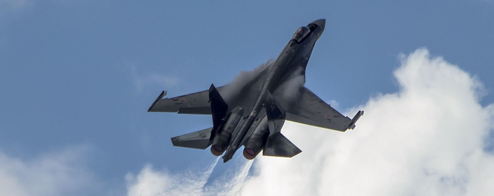 Россия задействовала более полсотни истребителей и бомбардировщиков в учениях над Черным морем