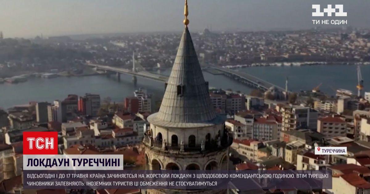 Новини світу: у Туреччині почав діяти локдаун, людям без потреби заборонено виходити з дому