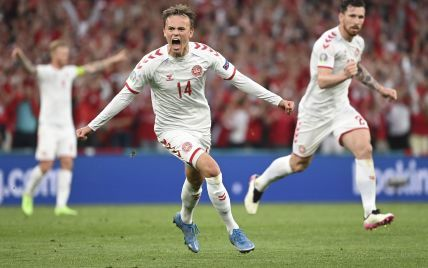 Уэльс - Дания - 0:4 Онлайн-трансляция матча 1/8 финала Евро-2020